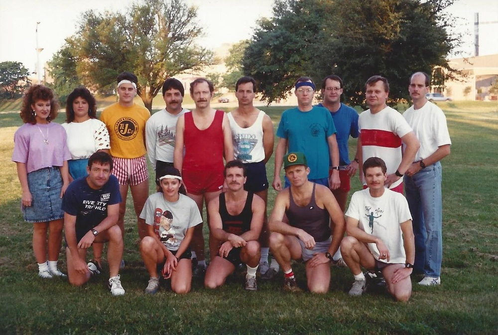 Tennis Tournament and 5K circa 1986