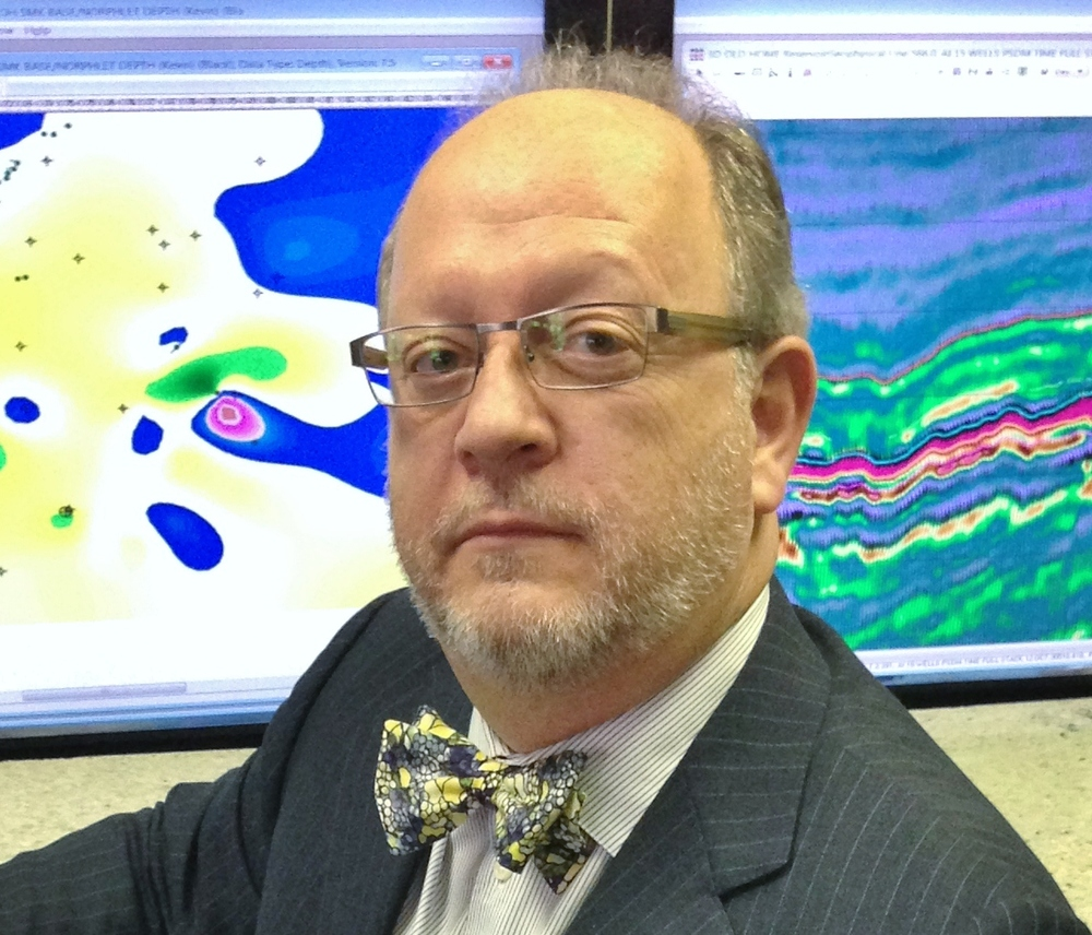 Kevin Hill, geophysicist