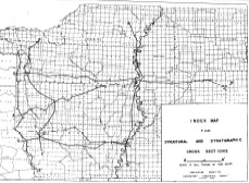 North Louisiana Map.Structural And Stratigraphic Cross Sections Of North Louisiana And