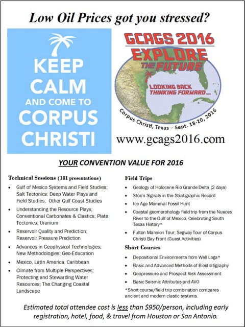 GCAGS 2016