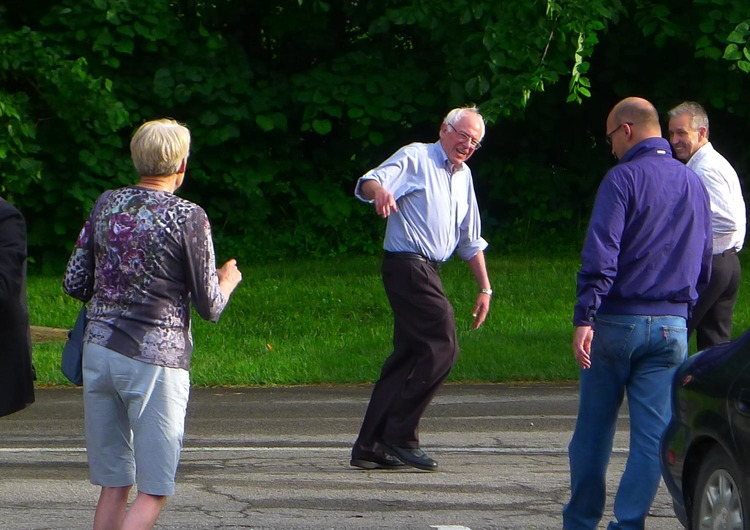 13.  Bernie Sanders in Iowa, June 19, 2015.