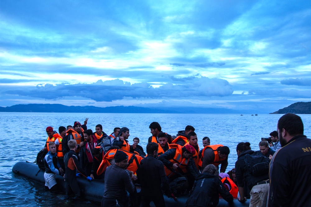 27. On the Isle of Lesbos. December 10, 2015.