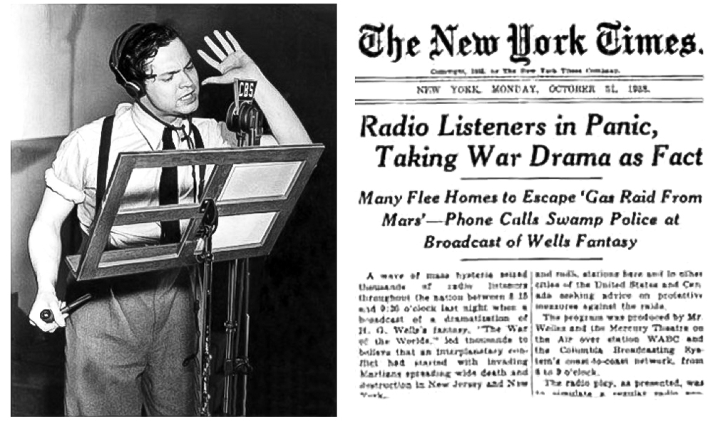 The War of the Worlds (Orson Welles and the Mercury Theater On the Air, 1938), October 30, 2017