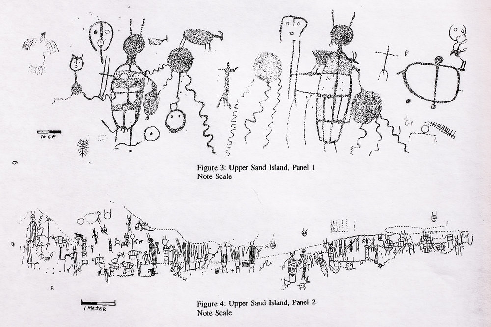 "From  ""Early Rock Art on the San Juan River""  by  Joe Pachak"