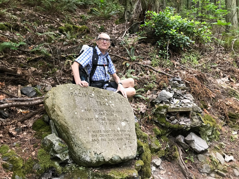 Ron Strickland, father of the Pacific Northwest Trail.