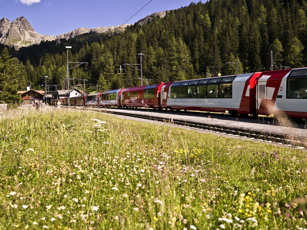 Rhaetian Train Preda