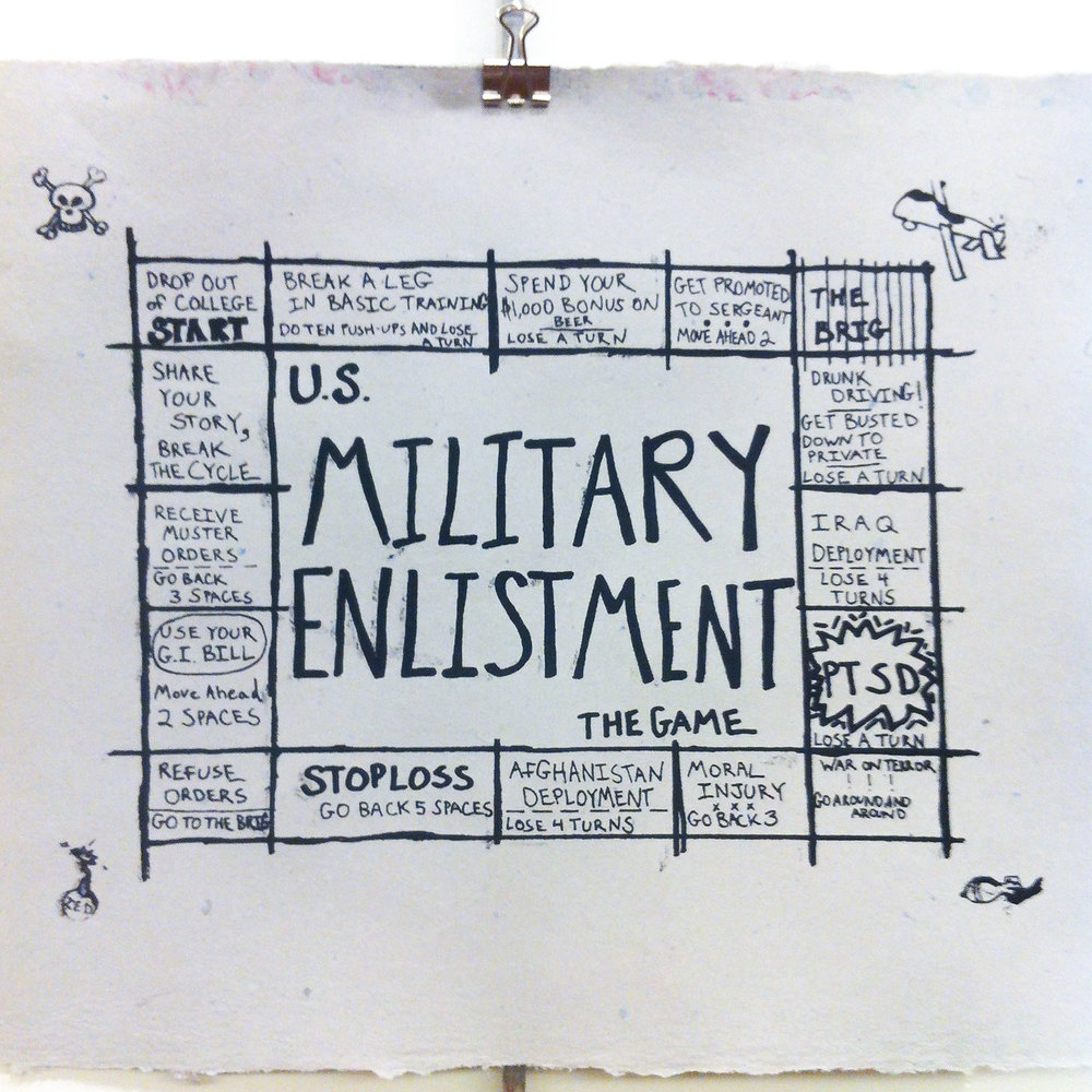 """The Enlistment Game"" by Kevin Basl"
