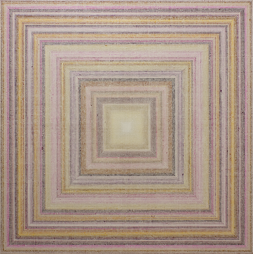 Untitled (BYMV), acrylic on canvas, 2011, 60 x 60in | 152 x 152cm