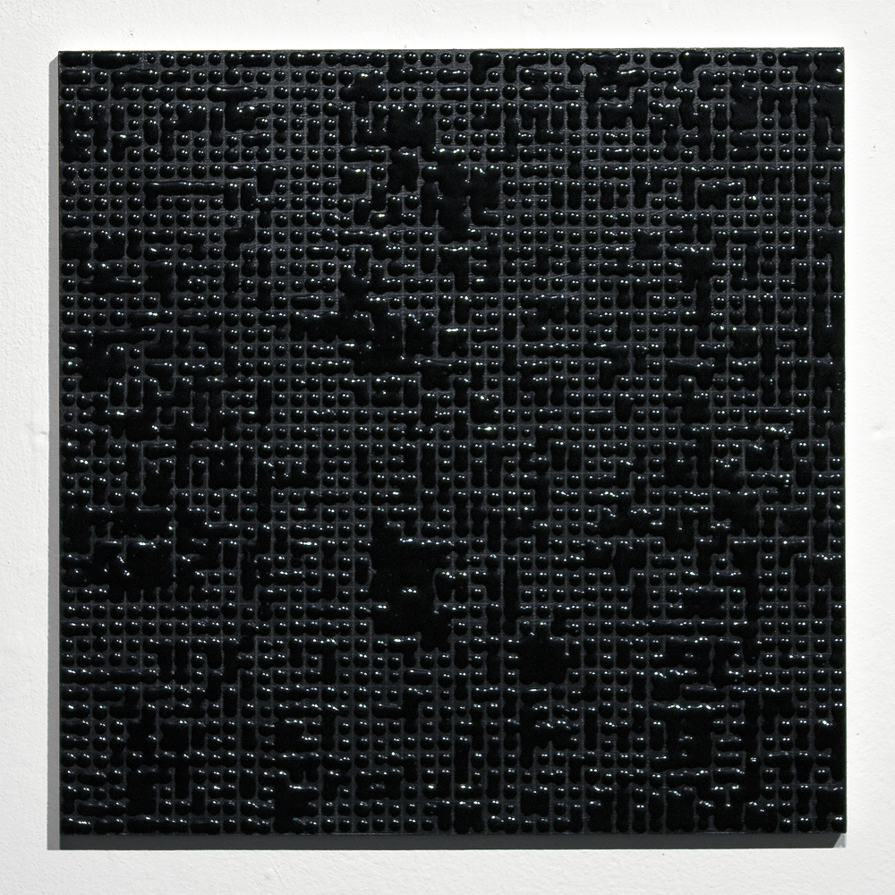 Untitled (Black #A) Acrylic on MDF 12 x 12 inches 2010.jpg