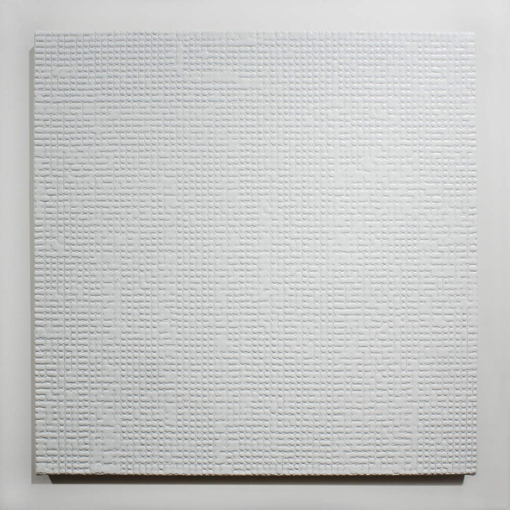 Mergence (white) acrylic on canvas 2013 19 x 19 inches.jpg