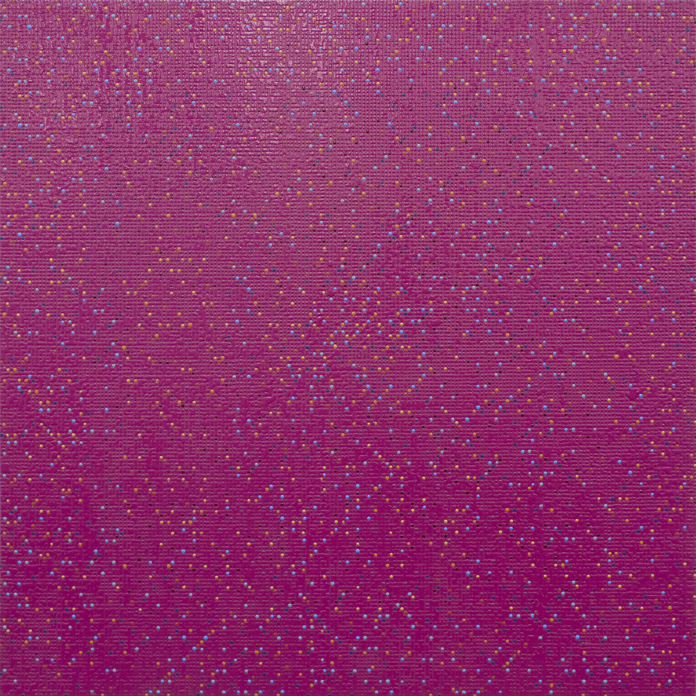 Primary Array #141, acrylic on canvas, 2010, 48 x 48in | 121 x 121cm
