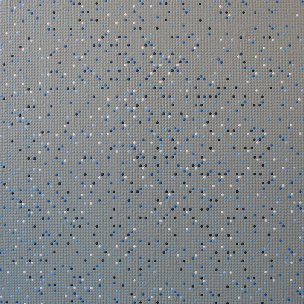 Primary Array #200, acrylic on canvas, 2007, 27 x 27in | 68 x 68cm