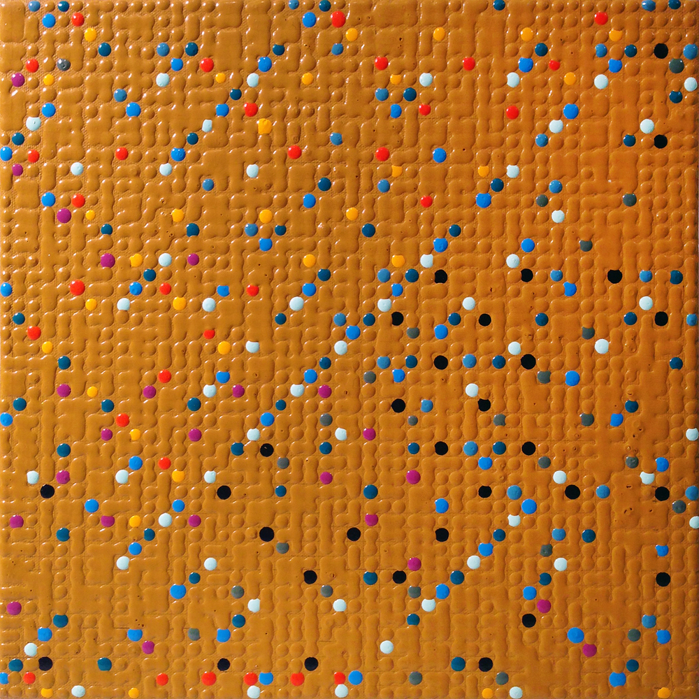 Primary Array #17, acrylic on canvas, 2008, 12 x 12in | 30 x 30cm