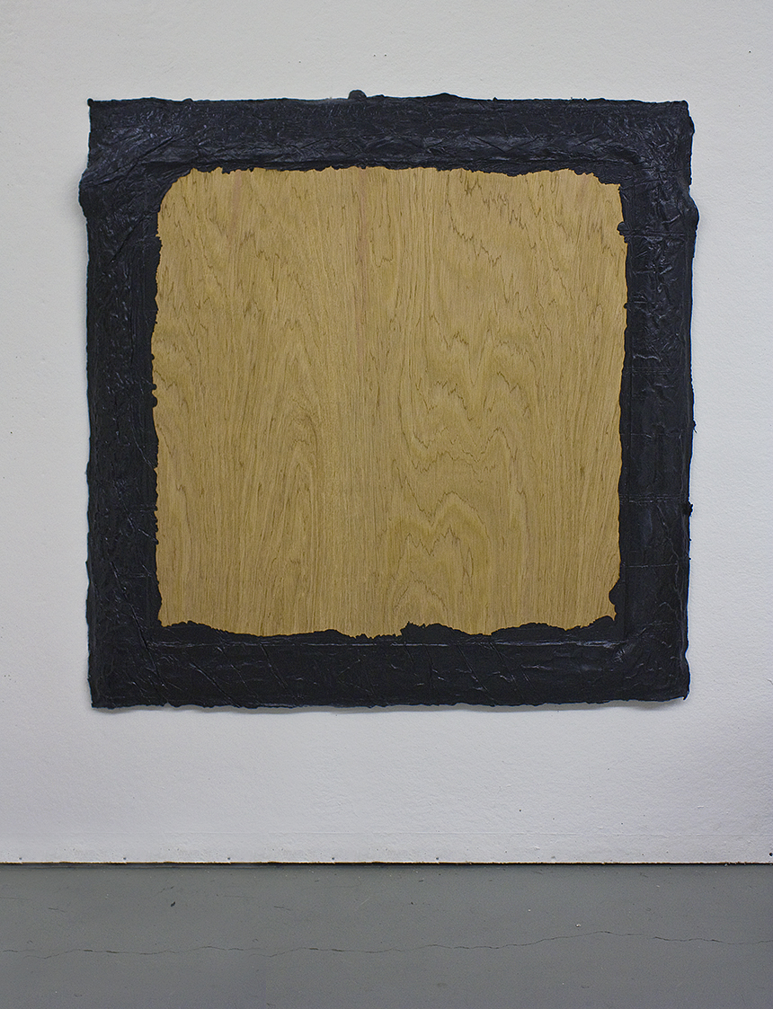 Untitled (Black),  acrylic on plywood, 2011, 60 x 60in | 121 x 121cm