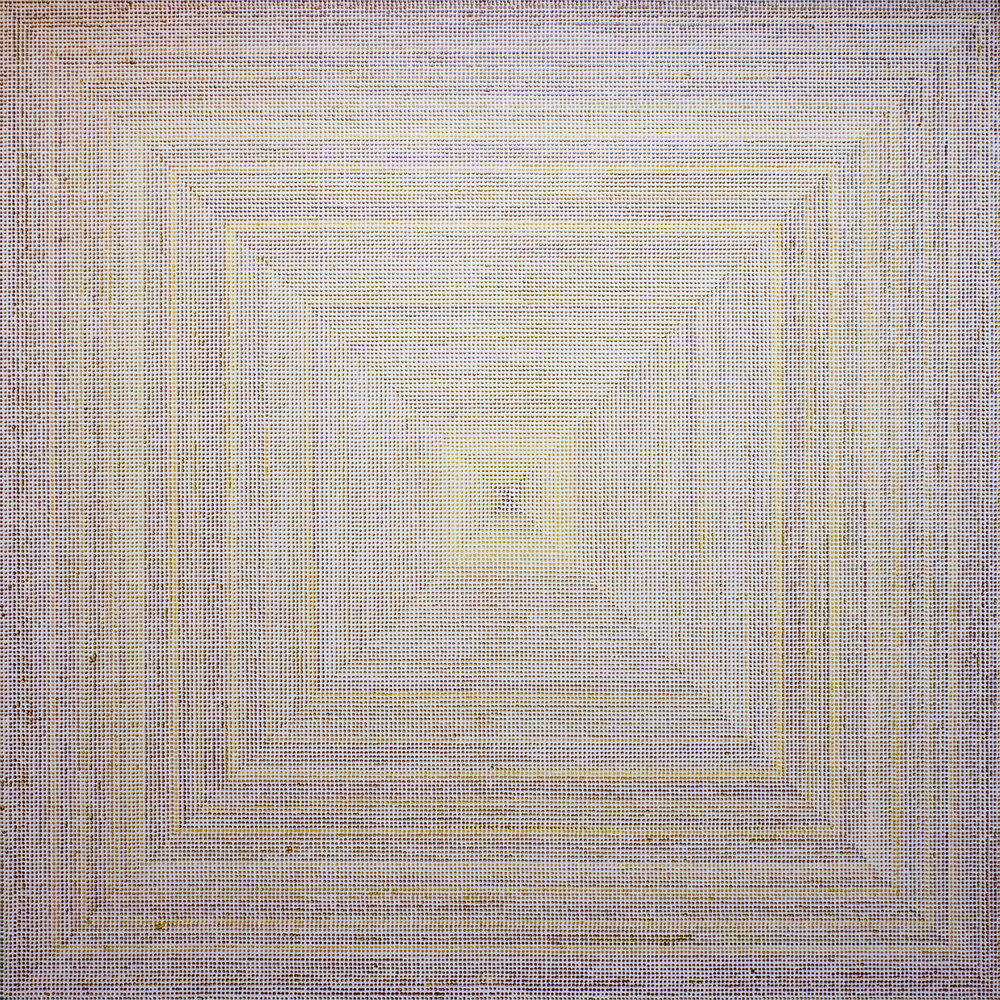 Untitled (VY), acrylic on canvas, 2012, 60 x 60in | 152 x 152cm
