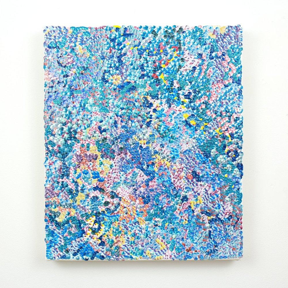 4th Amalgamation, acrylic on canvas, 2016, 12 x 14in | 30 x 35cm