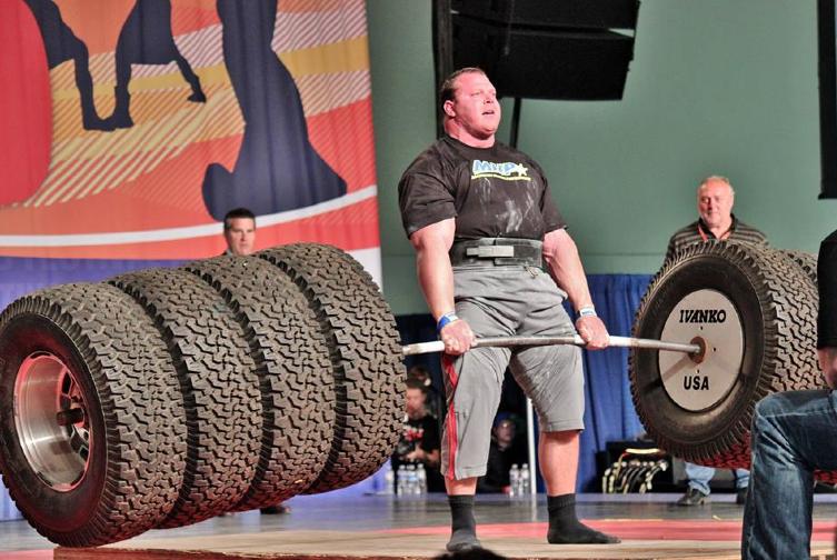 Professional Strongman Derek Poundstone