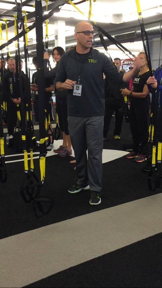 TRX Director of Human Performance, Chris Frankel