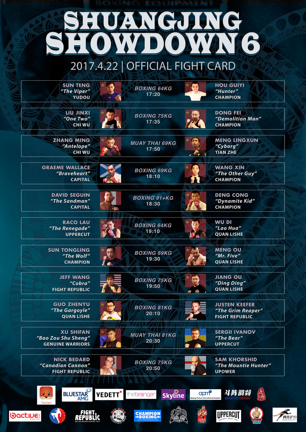 Showdown_Beijing_Boxing_Fightcard