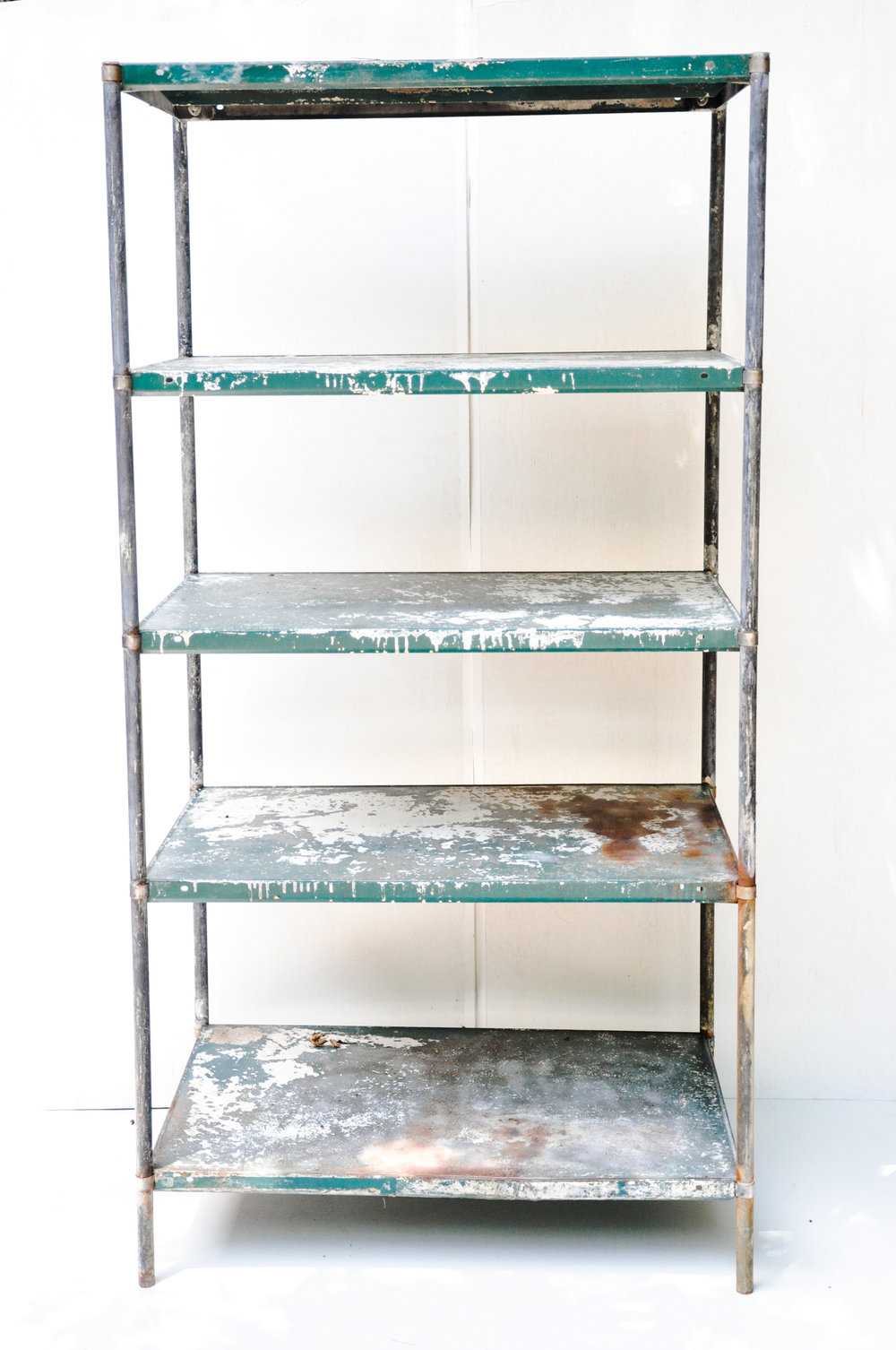 southern vintagelarge vintage accents and detailsindustrial metal rh sovintagega com vintage metal shelving vintage metal kitchen shelves