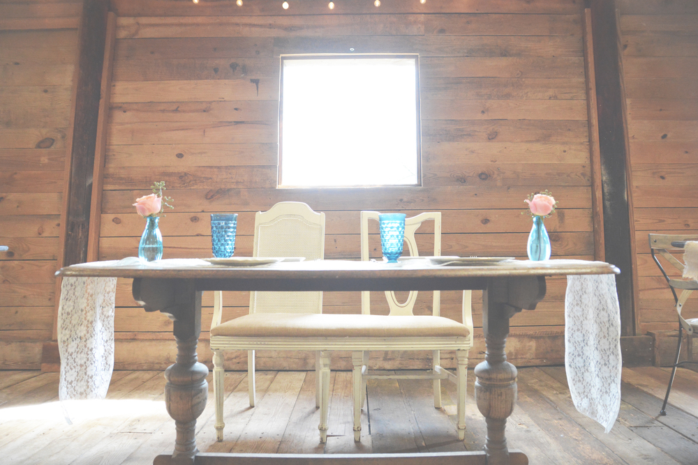 Southern Vintage Blue Rustic