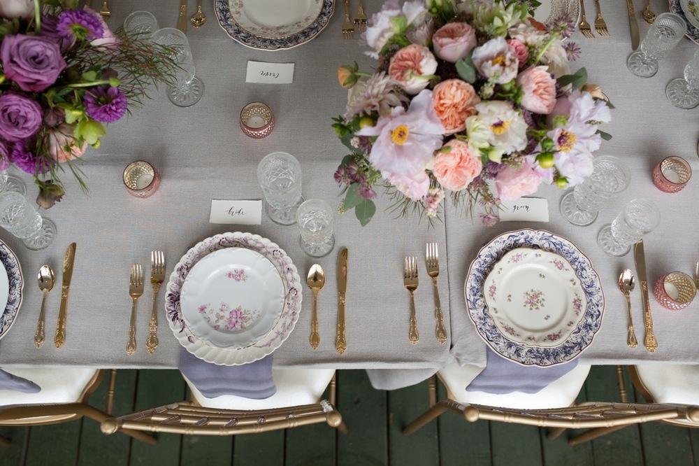 Southern Vintage elegant rental tablware