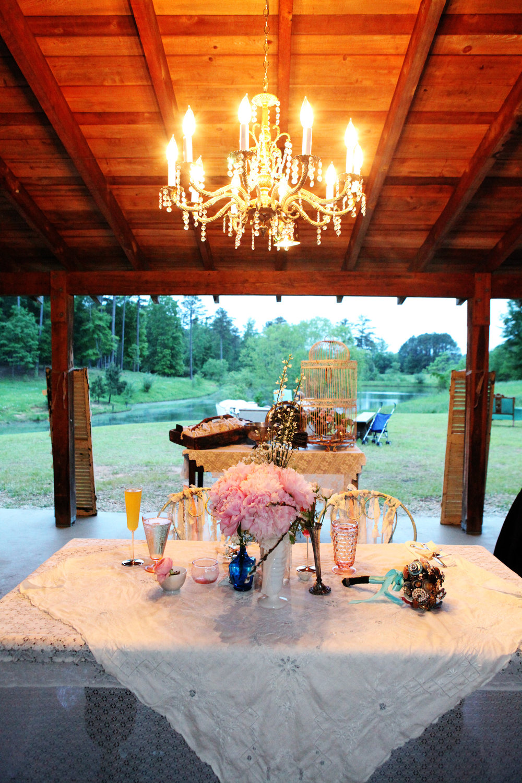 Sweetheart Table Chandelier