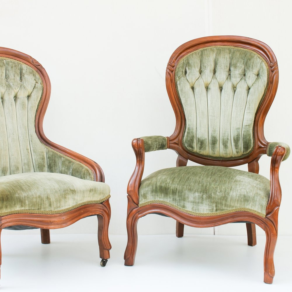 Exceptionnel Green Chairs 1 2 (1)
