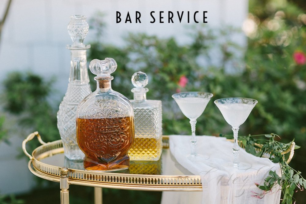 Casey Green Photography - Southern Vintage Bar Cart