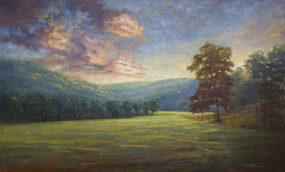 """The Old Paths""  34x56 in. Oil on Canvas"