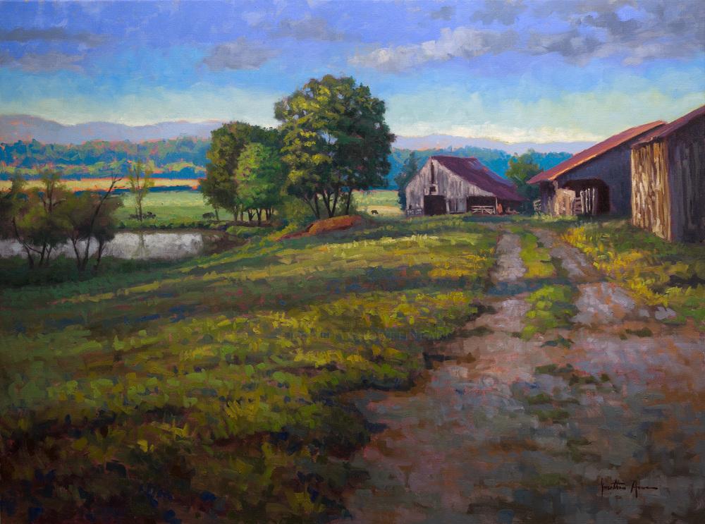 Morning in the County 30x40 Jonathan Howe.jpg