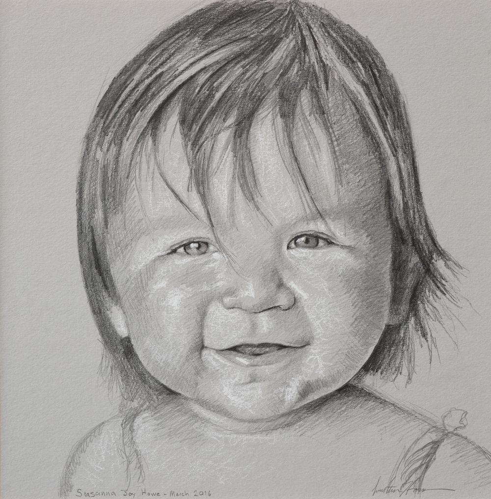 Susanna Joy Howe at age 1
