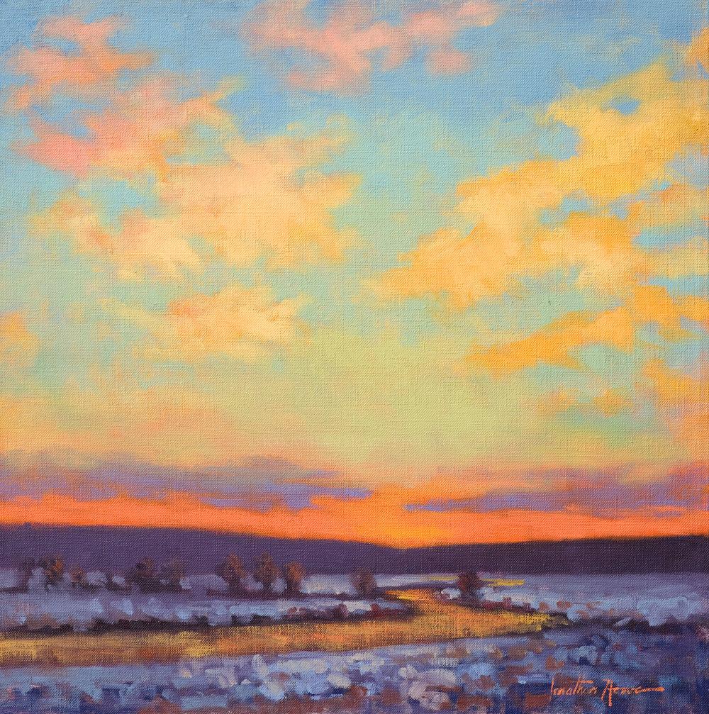 Winter Sun 18x18 Jonathan Howe.jpg