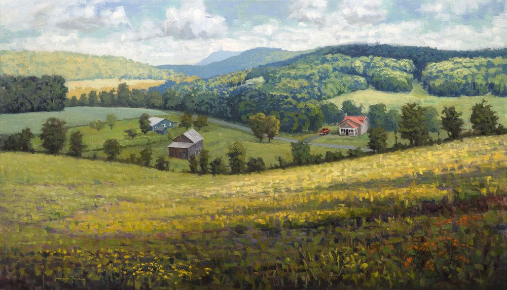 The Spangler House Farm 28x48 Jonathan Howe.jpg