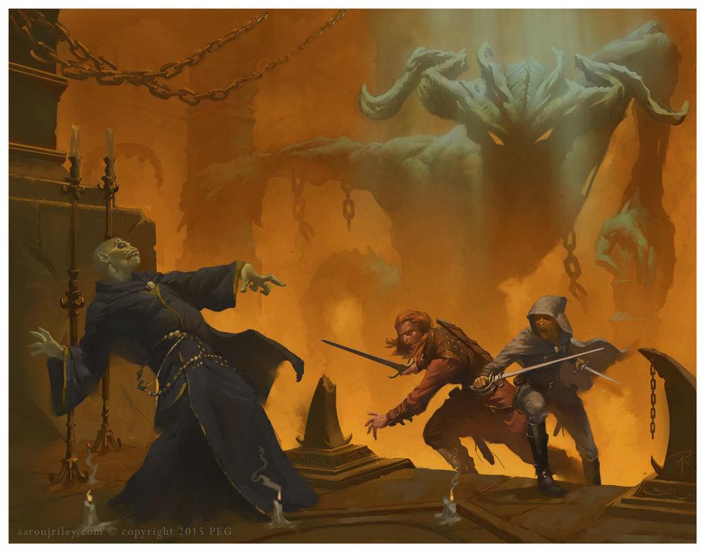 Savage Foes of Newhon