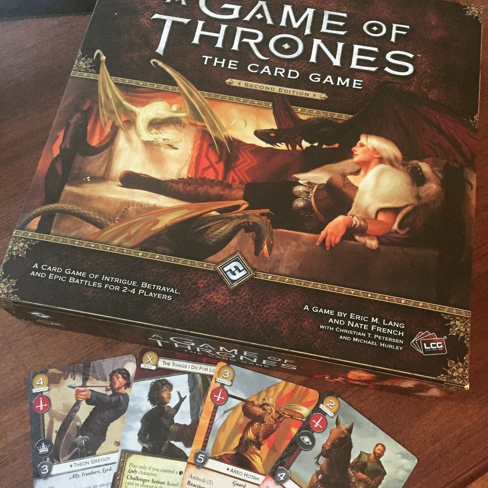 Aaron Riley Game of Thrones cards