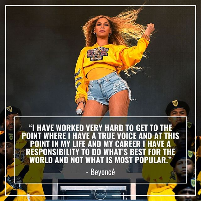 More black female headliners, thx 👑🐝