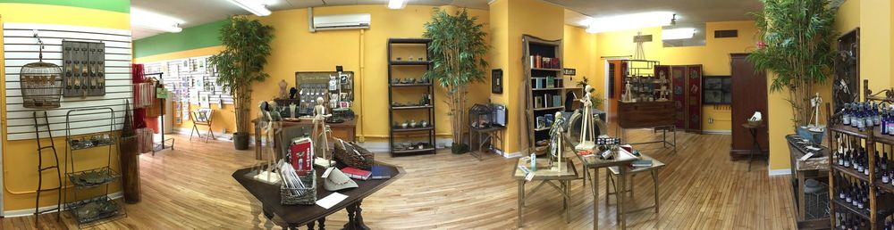 Panarama of our LOTUS Artisan Gallery at CWOW