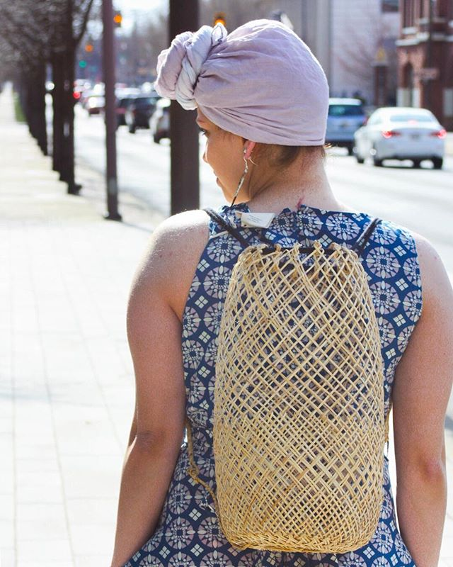 We are loving our new woven backpacks. These unique, fun, and versatile summer bags are great as a purse or a beach bag. At least one thing will be easy to get sand out of. 😉