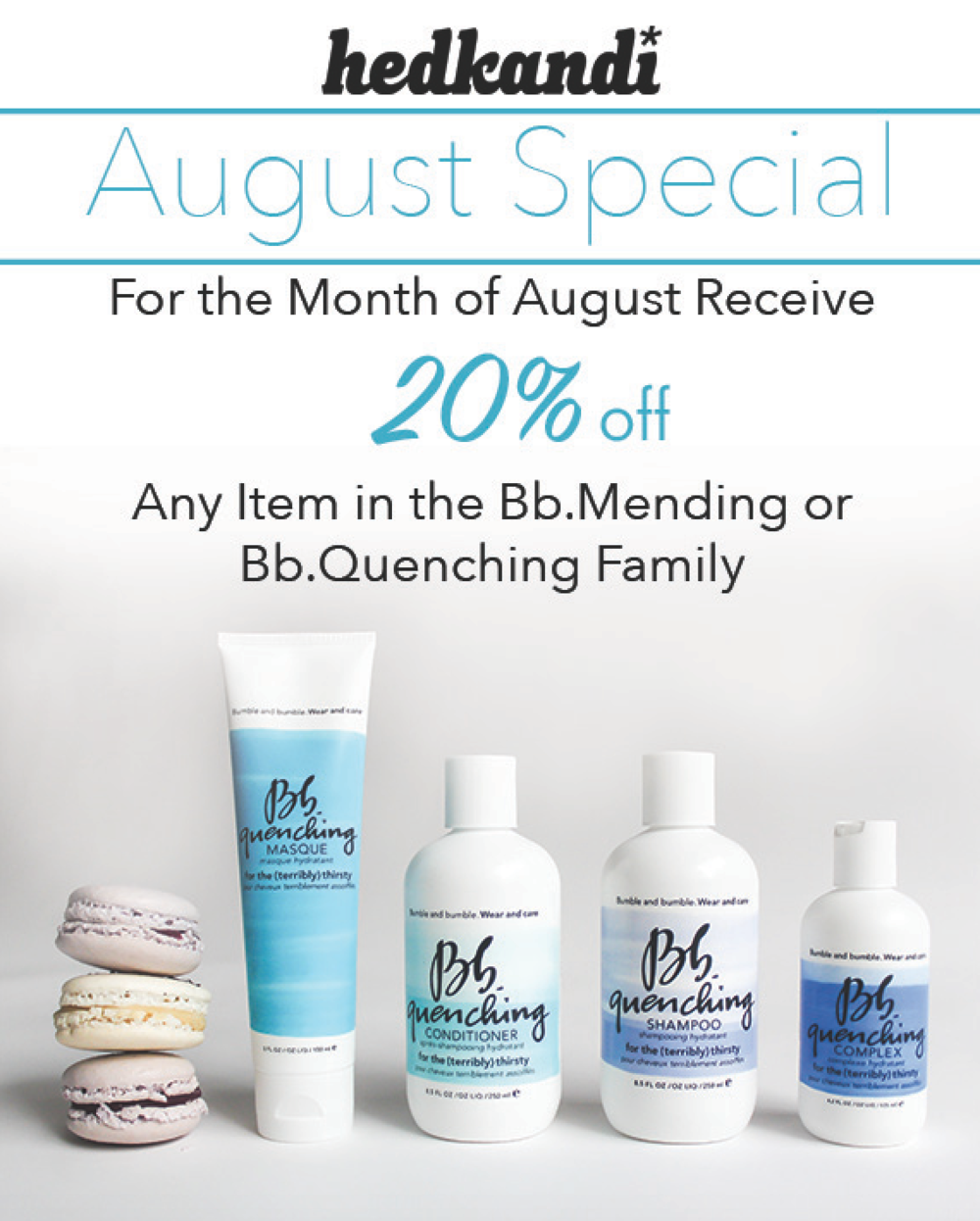 Hedkandi August Treatment Promotion