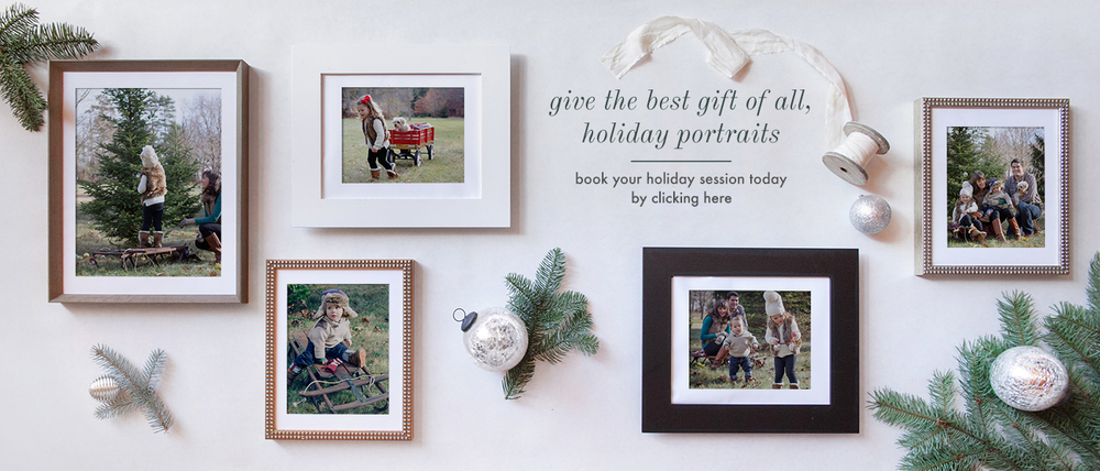 holiday family portrait session photoshoot in worcester massachusetts central