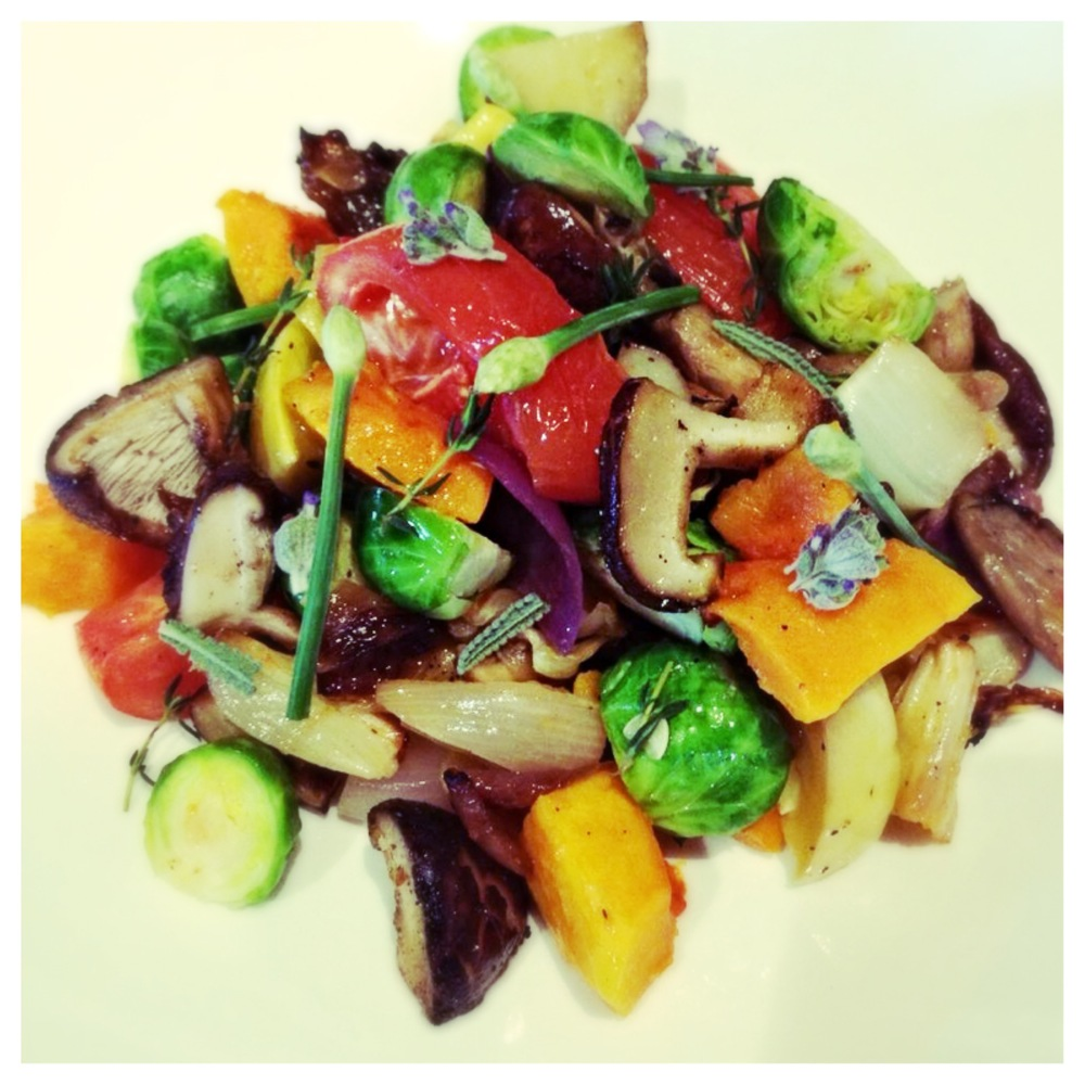 Simply Roasted Garden Vegetables