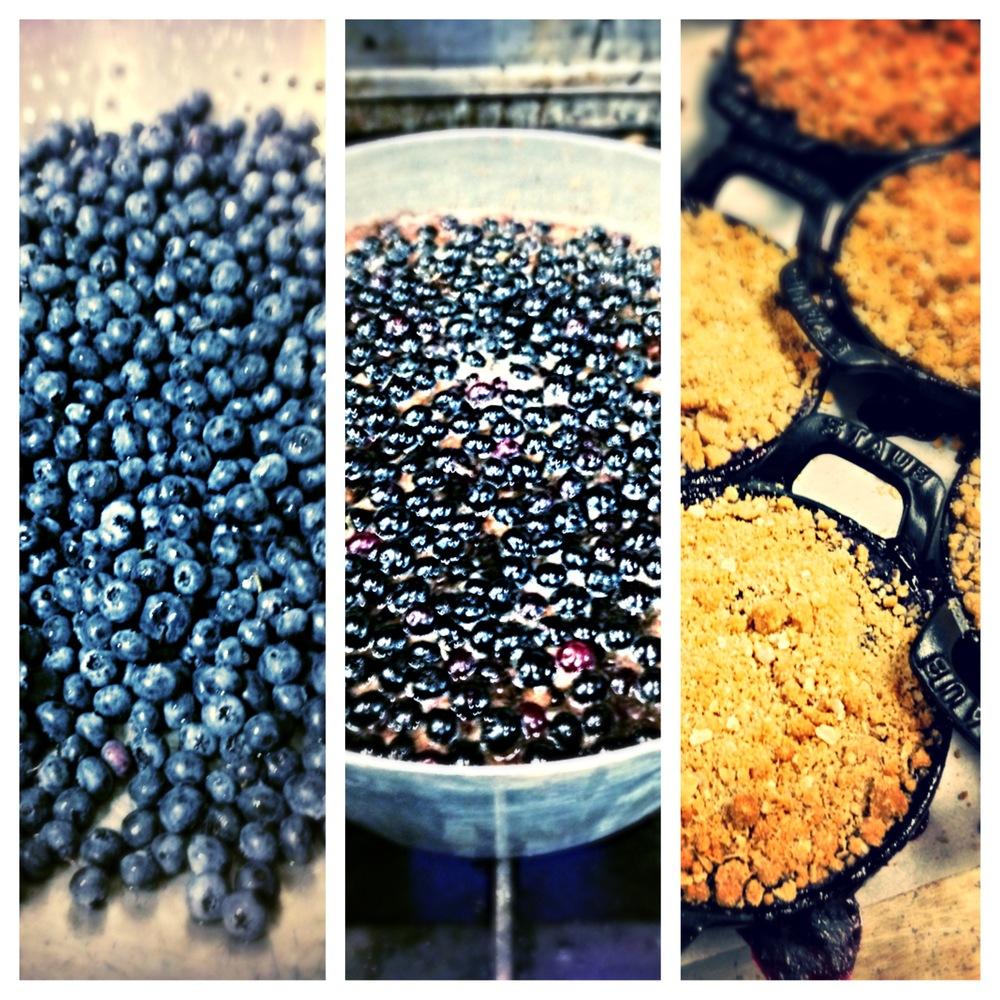Fresh Blueberry Cobbler