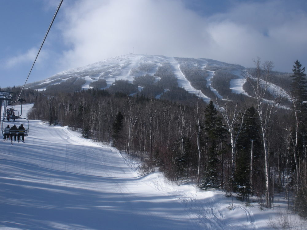 Whiffletree Chairlift, Sugarloaf, Maine