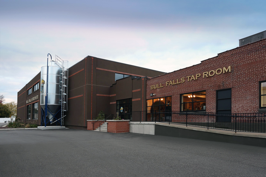 Bull Falls brewery Exterior