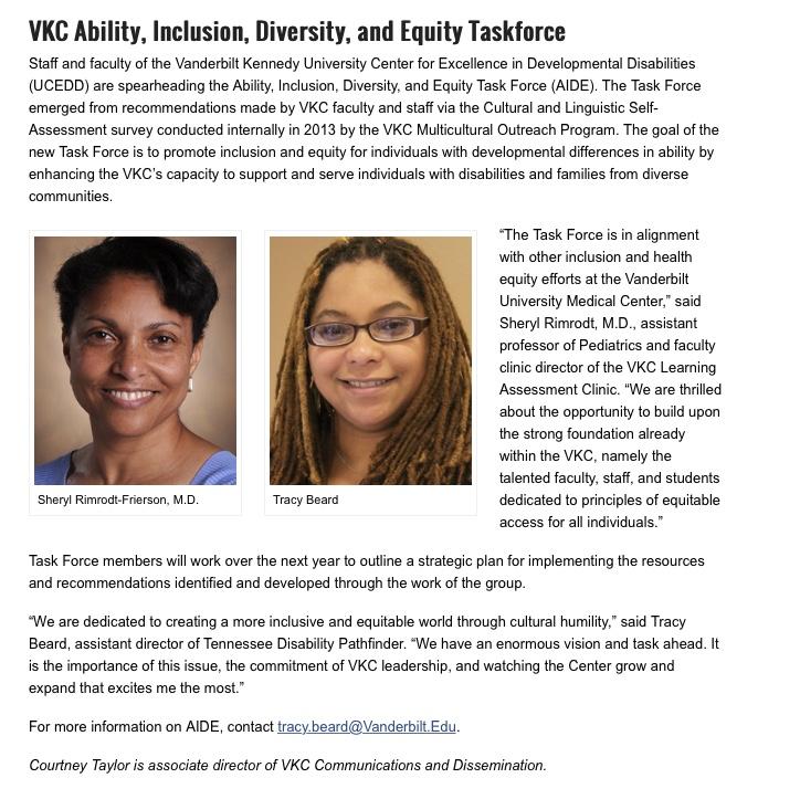 VKC Notables Article