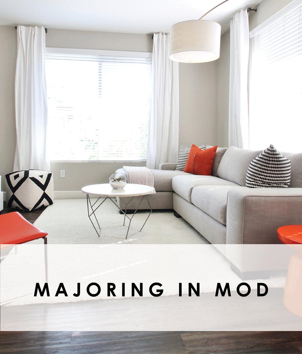 MAJORING IN MOD