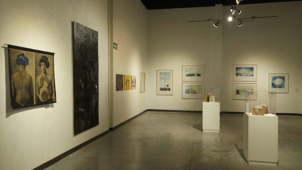 """MUESTRA COLECTIVA """"TERRITORIOS TRASPASADOS""""   MUSEO DE ARTES GRAFICAS / SALTILLO, COAH.   OCTUBRE 2016"""