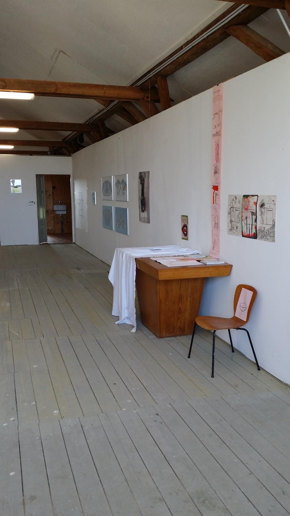 Lomnice, 2014  Installationsansicht