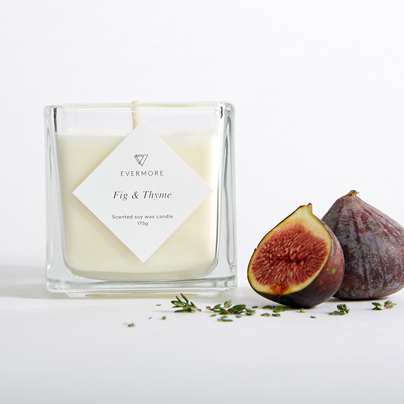 FIG & THYME SOY CANDLE >